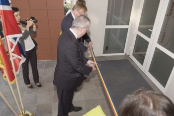 The brand new Romanian Atmospheric Observatory - RADO was officially open on September 28, 2011.